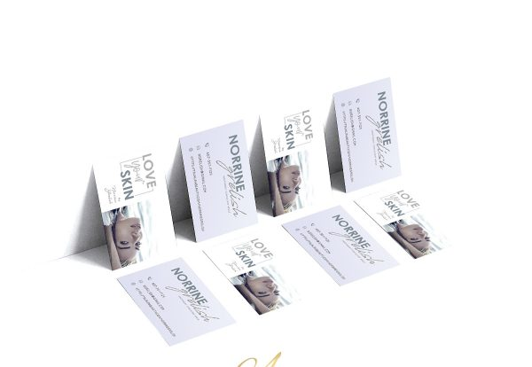 Premade Business Card - Skin Care