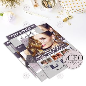 Retractable Banner Stand And Carrying Case Monat Skin Care Hair Care We Care Ceoladies