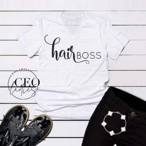 hairBOSS tshirt - CEOladies