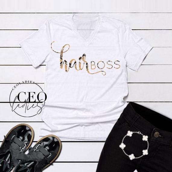 hairBOSS tshirt - CEOladies